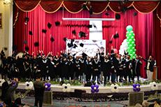 برگزارش جشن دانش آموختگی